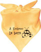 farbiger Baby Body 1/4 Hearttrob