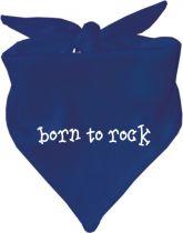 Baby Halstuch mit Druck Born to rock