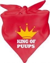 Baby Halstuch mit Druck King of Puuups / AUNTI