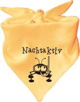 Baby Halstuch mit Druck Nachtaktiv / AUNTI