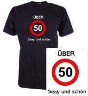 T-Shirt mit Druck Über 50 sexy und schön