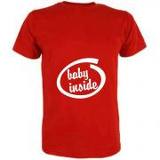 T-Shirt für Schwangere Baby Inside
